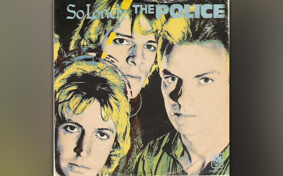 "20. The Police: So Lonely (aus 'Outlandos d'Amour', 1978). Sting gab zu, für den Song bei Bob Marleys ""No Woman, No Cry"""