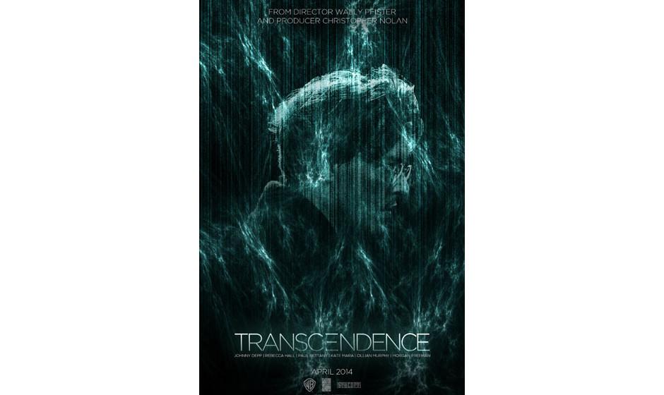 'Transcendence'. Johnny Depp als todkranker Wissenschaftler, der sich in einen Computer reinlädt. Hoffentlich mehr Tron und