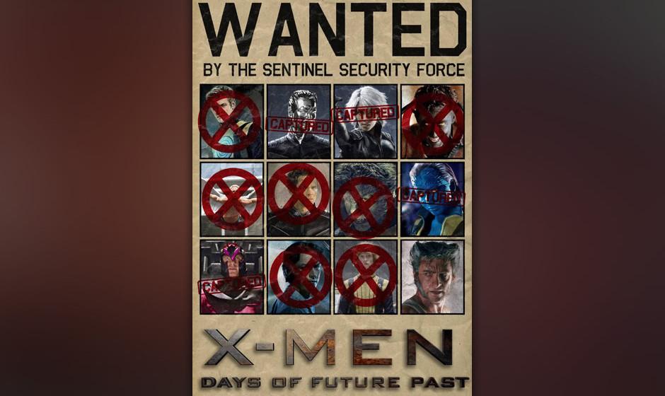 'X-Men: Days Of Future Past'. Bryan Singer, von dem die einzigen beiden guten 'X-Men'-Filme stammen, will Vergangenheit und Z