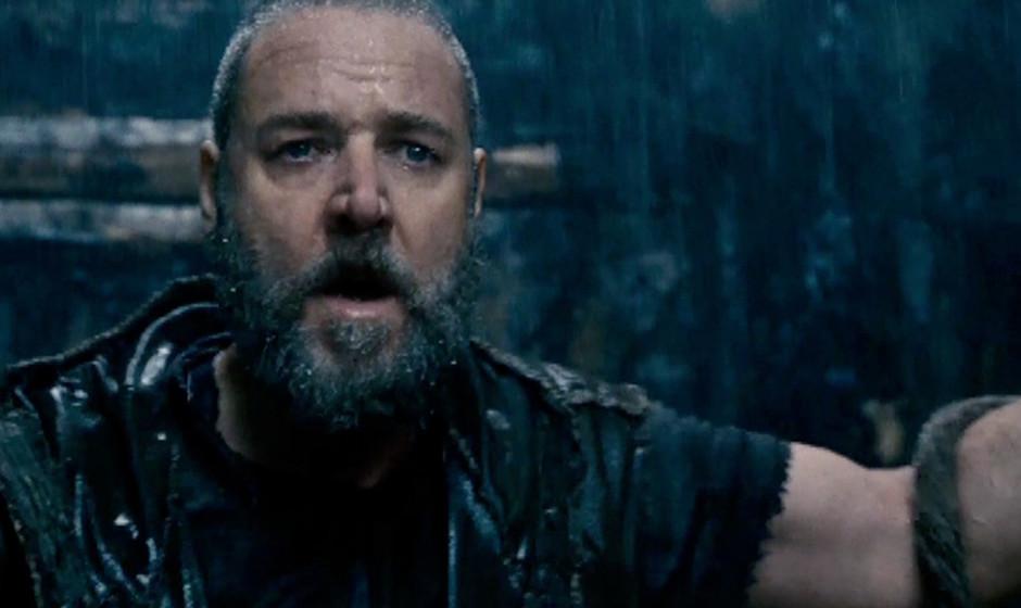 'Noah'. Russell Crowe spielt die biblische Figur Noah. Von Regisseur Darren Aranofsky ließ er sich versichern, dass es in de