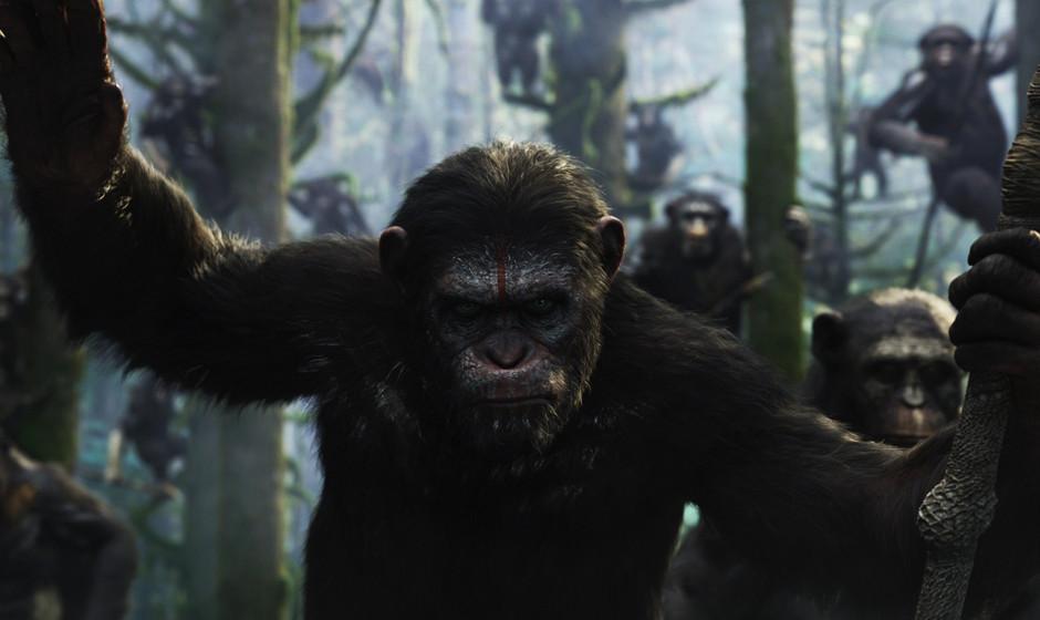 'Dawn Of The Planet Of The Apes'. Wird hoffentlich so gut wie der Vorgänger. Affe Caesar arbeitet weiter an der Weltherrscha