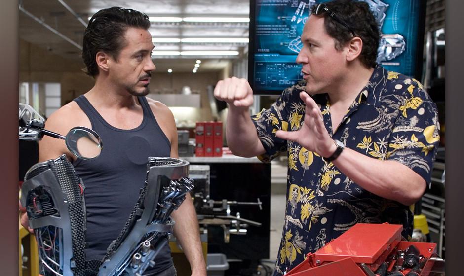 'Chef'. Robert Downey Jr. leistet seinem Freund, Regisseur und Hauptdarsteller John Favreau, Schützenhilfe –der will sei
