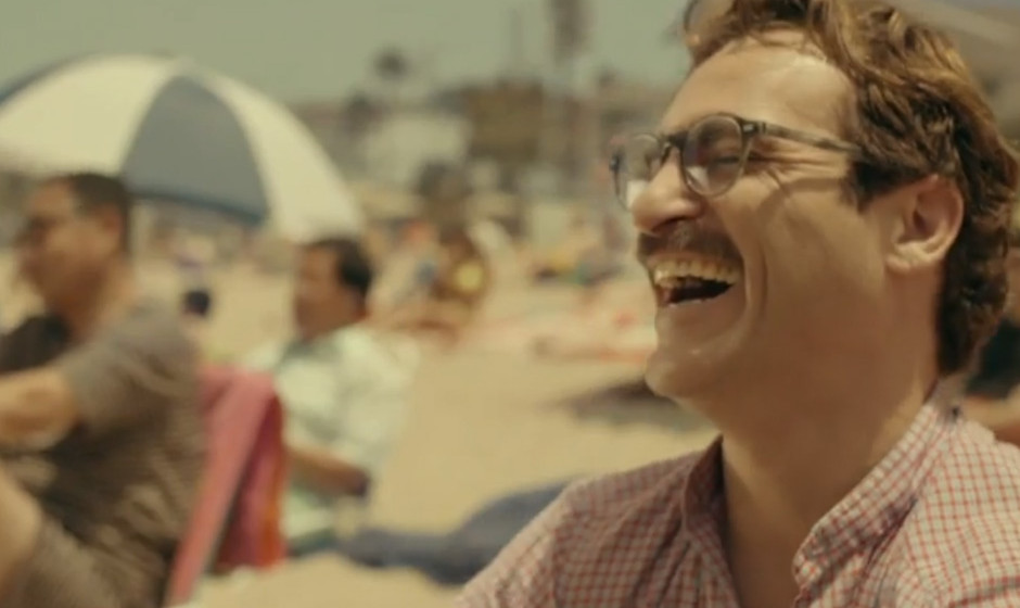 'Her'. Joaquin Phoenix verliebt sich in Spike Jonzes Film in Scarlett Johansson. Halt: In Scarlett Johanssons Stimme, die sie