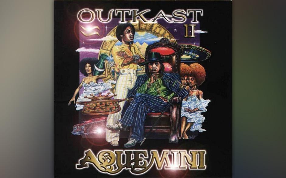 500. Outkast: Aquemini (1998). Zu einem Zeitpunkt, da Master P und Puff Daddy die Charts anführten, ließ OutKast ein explos