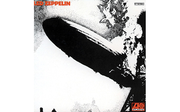 Led Zeppelin I high res cover art