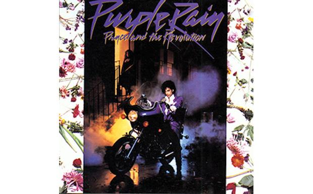 Prince and the revolutionPurple RainHIGH RESOLUTION COVER ART