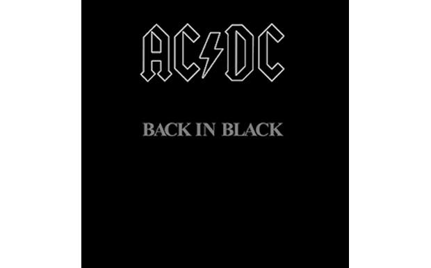 AC/DCBack in BlackHIGH RESOLUTION COVER ART