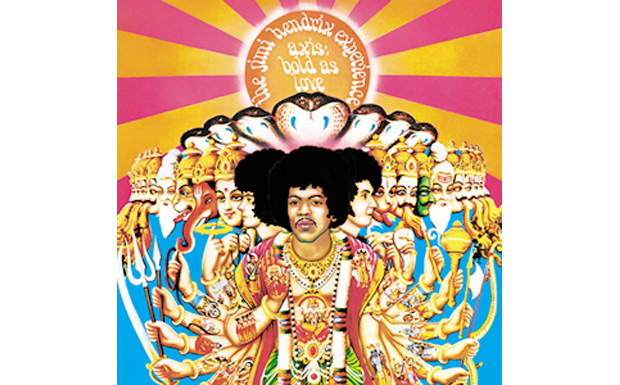The Jimi Hendrix ExperienceAxis: Bold As LoveHIGH RESOLUTION COVER ART