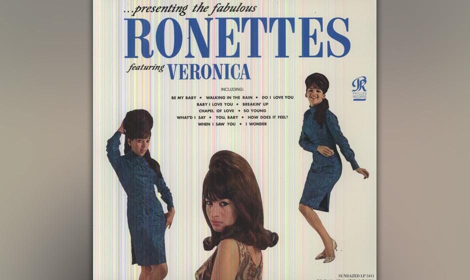 422. Presenting The Fabulous Ronettes: The Ronettes Philles (1964). Die Ronettes waren Popgöttinnen im Gewand katholischer K