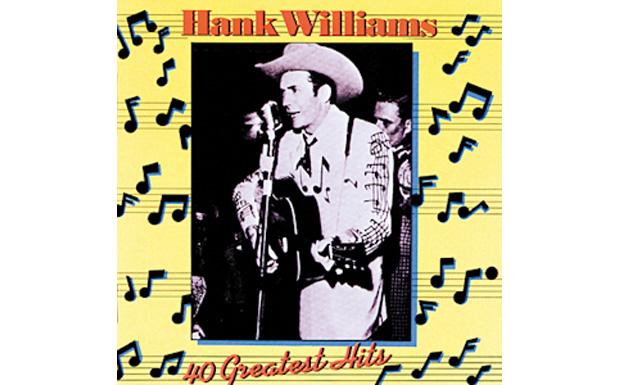 Hank Williams 40 Greatest HitsHIGH RESOLUTION COVER ART