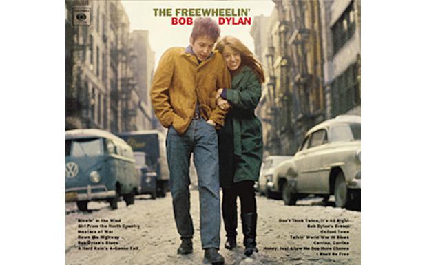 The Freewheelin' Bob DylanHIGH RESOLUTION COVER ART