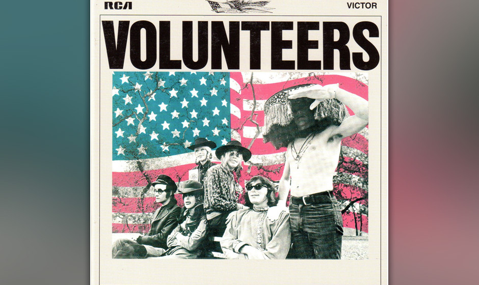 373. Volunteers: Jefferson Airplane 1969. Gitarrist Jorma Kaukonen nannte Paul Kantners revolutionäres Gesangsverständnis z