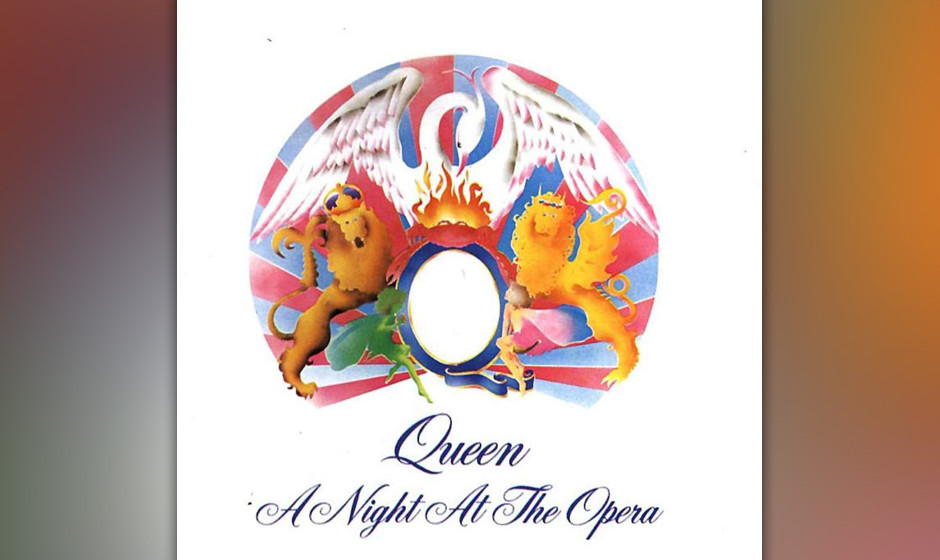 "231. A Night At The Opera: Queen 1975. Freddie Mercury wollte Queen zum ""Cecil B. DeMille der Rockmusik"" machen – und a"