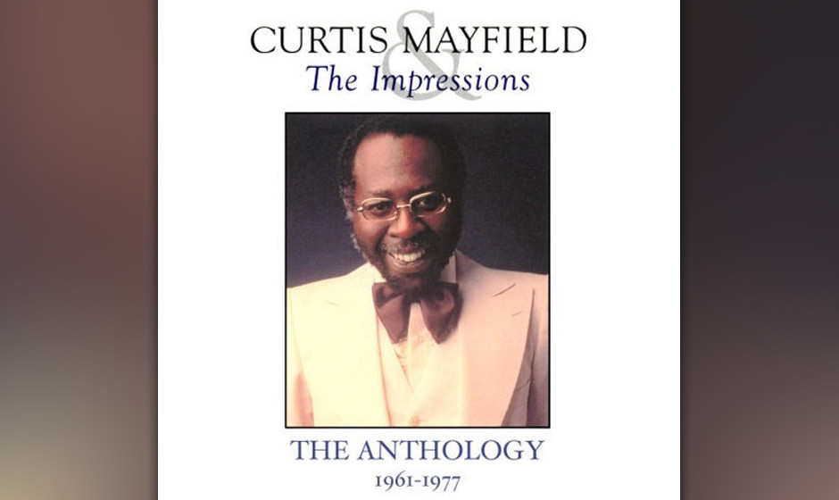 "178. Curtis Mayfield And The Impressions - The Anthology 1961-1977, 1992 Mayfield singt wundervolle Balladen (""Gypsy Woman�"