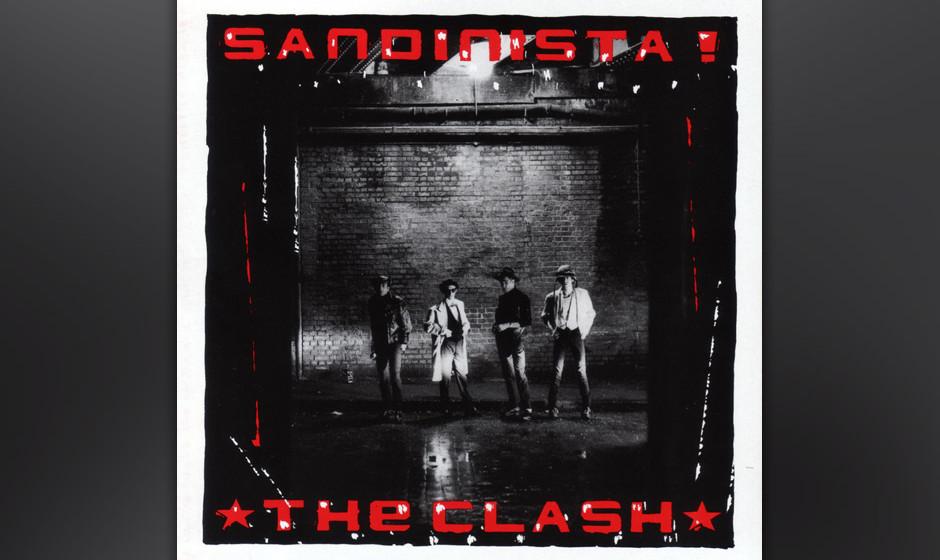 407. Sandinista!: The Clash (1980). Mit diesem nach der nicaraguanischen Revolutionsbewegung betitelten Triple-Album erreicht