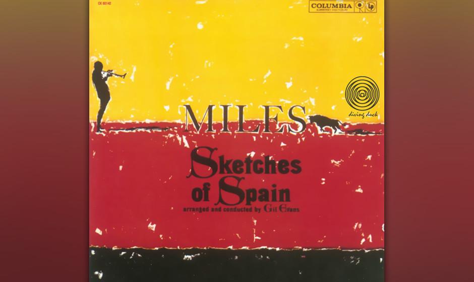 358. Sketches Of Spain: Miles Davis, 1960. Die Zusammenarbeit von Davis und dem Arrangeur Gil Evans bedurfte fünfzehn Orches