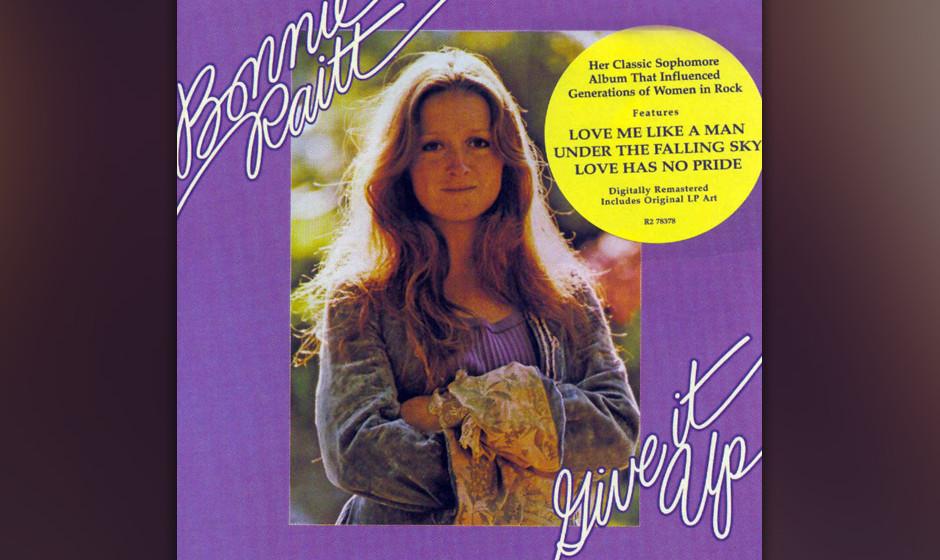 495. Give It Up: Bonnie Raitt (1972). Raitt machte sich auf nach Woodstock, um ihr zweites Album einzuspielen. Und geriet in