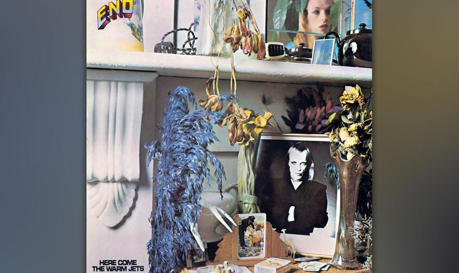 432. Here Come The Warm Jets: Brian Eno (1973). Enos erstes Soloalbum legte den Grundstein zu einer neuen Art glamourösen Ar