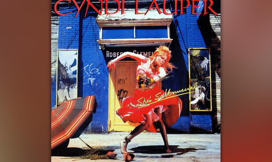 487. She's So Unusual: Cyndi Lauper (1983). Laupers erste Band war auseinandergebrochen und sie musste in einem japanischen