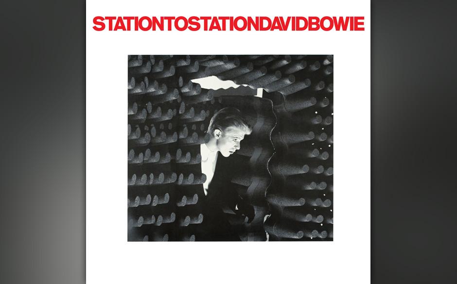 """Station To Station: David Bowie, 1976. Auf dem Kraut-Disco-Titeltrack ruft sich Bowie zum Thin White Duke aus. """"Station to"""