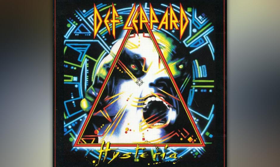 464. Hysteria: Def Leppard (1987). In den Achtzigern hatte Def Leppard eine Pechsträhne, die darin gipfelte, dass Schlagzeug