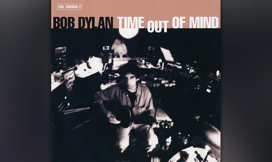 410. Time Out Of Mind: Bob Dylan (1997). Die düsteren, atmosphärischen Arrangements von Produzent Daniel Lanois hüllen Dyl
