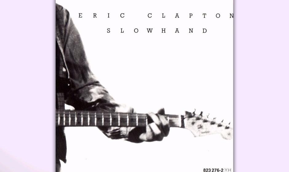 """325. Slowhand: Eric Clapton, 1977. Den Spitznamen """"Slowhand"""" verlieh ihm der Manager der Yardbirds. Auf diesem Album mixt"""