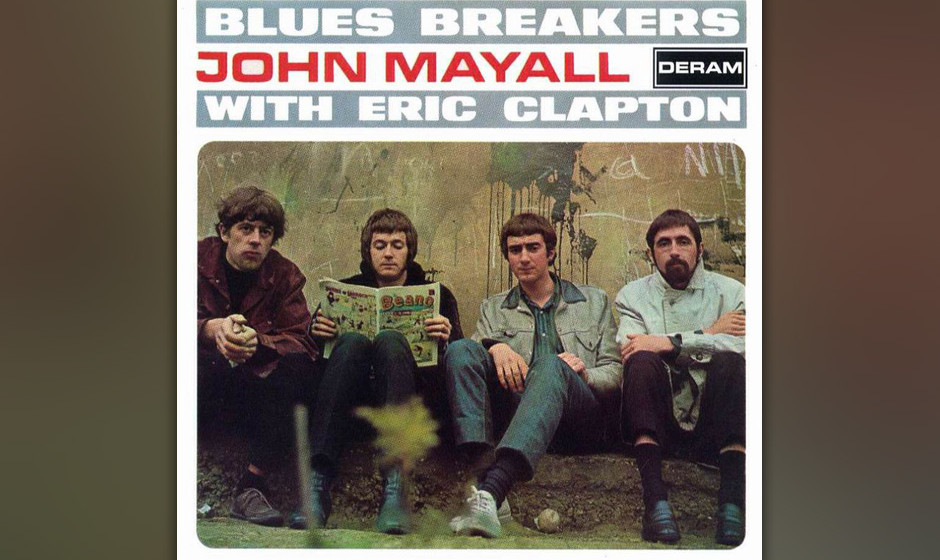 195. John Mayall With Eric Clapton - Blues Breakers, 1966 Es waren Claptons Soli auf diesem Album, die in London den Clapton-