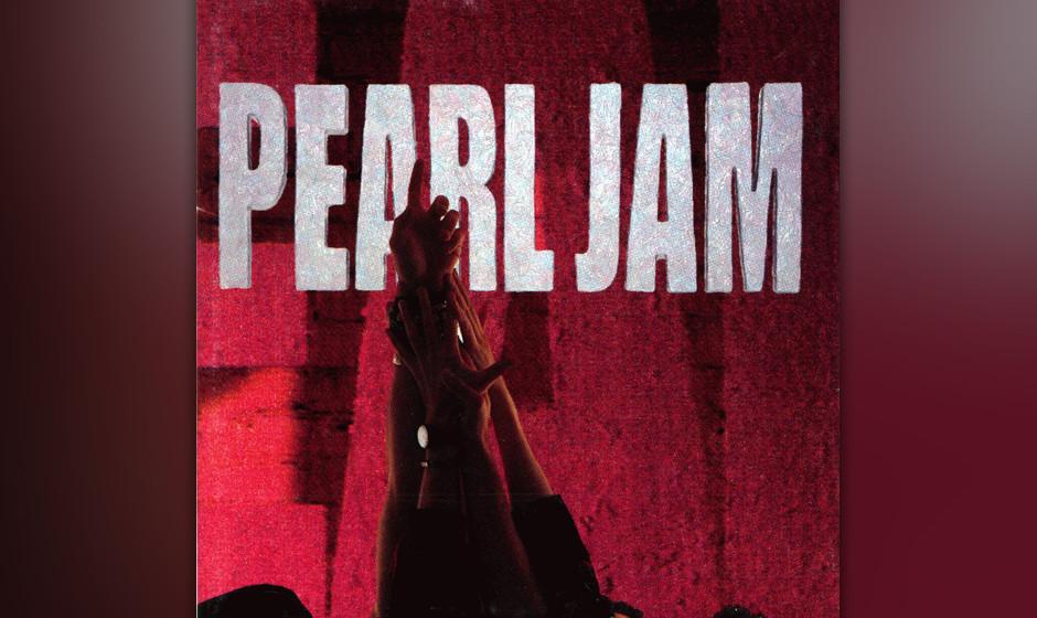 209. Ten:Pearl Jam 1991. Als ihr Debütalbum erschien, rangen Pearl Jam mit Nirvana um die Grunge-Krone – ein Wettstreit, d