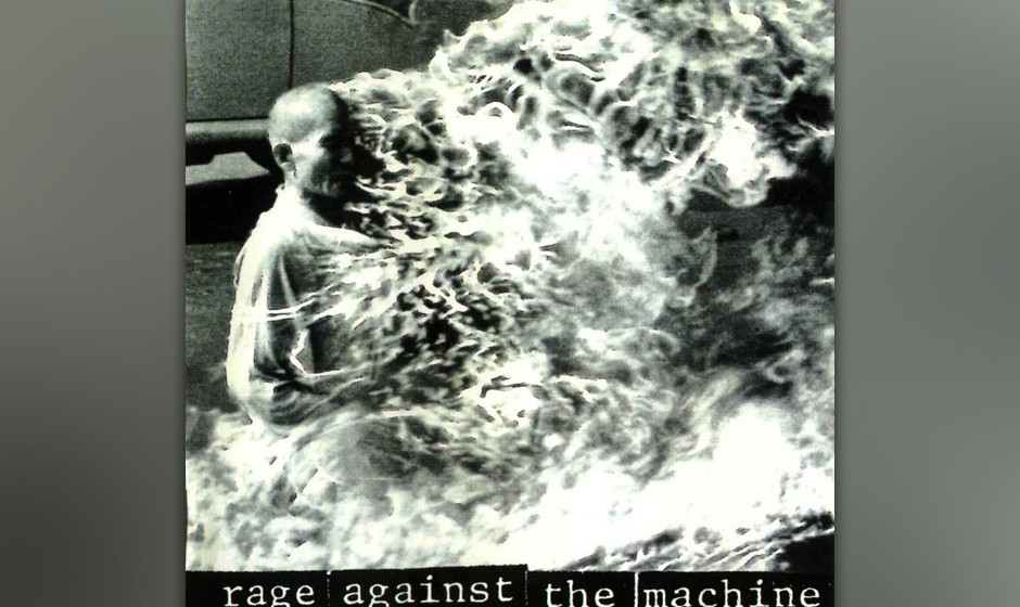 "100. ""Rage Against  The Machine"" - Rage Against The Machine, 1992: Die radikalen Ansichten des Sängers Zack de la Rocha"