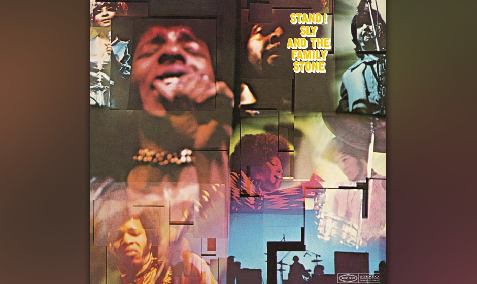 """121. Sly and the Family Stone - Stand!, 1969 Mit """"Stand!"""" und """"You Can Make It If You Try"""" schwimmt Sly Stone auf der"""