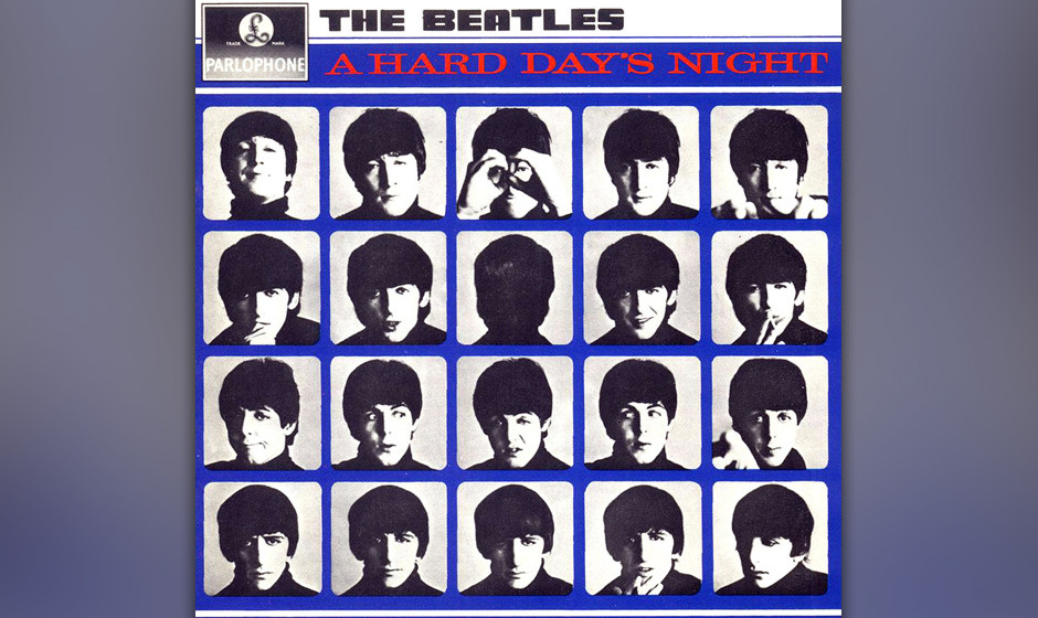 307. A Hard Day's Night: The Beatles,1964. Der Film von Richard Lester zeigte die charmante Seite der Beatles. Der Soundtra
