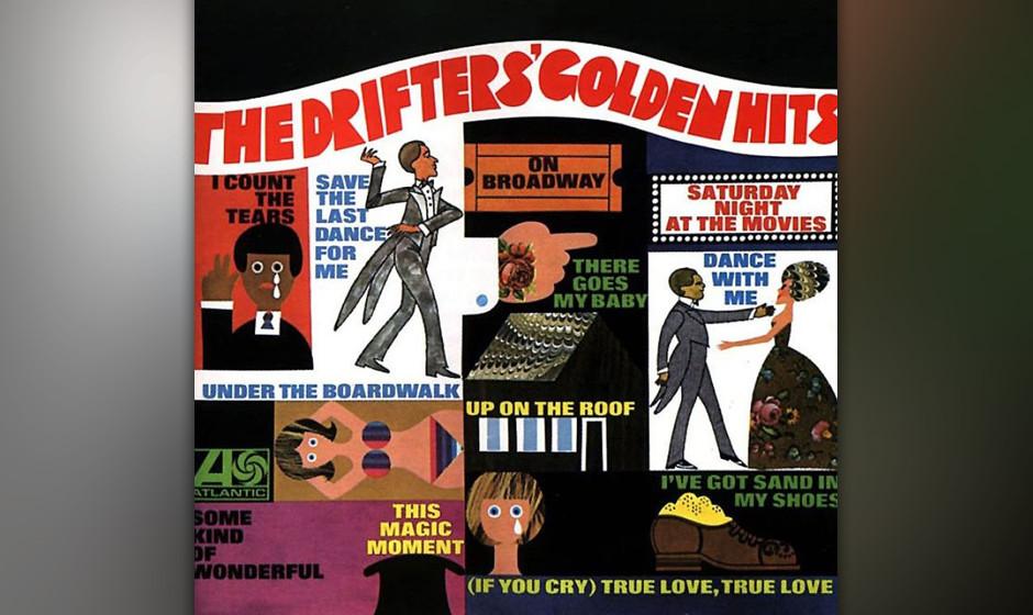 459. Golden Hits: The Drifters (1968). Anfang der Sechziger hatten sich die Drifters zu einer geschmeidigen Soul-Combo entwic