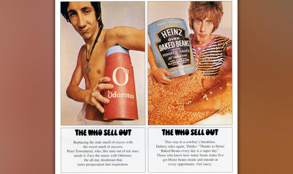 115. The Who - The Who Sell Out, 1968 Ihr erstes Konzeptalbum war eine Hommage an die englischen Piraten-Radios – zusammeng