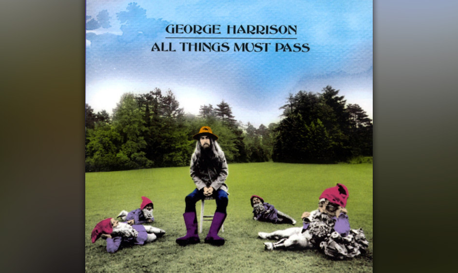 433. All Things Must Pass: George Harrison (1970). Harrison hatte aus Beatles-Zeiten fast genug Songs für ein Triple-Album g
