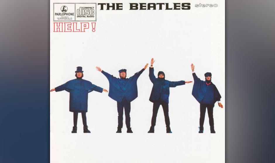 331. Help!: The Beatles, 1965. Der zweite Film der Pilzköpfe war ein lustiger Unfug über Swinging London, doch der Soundtra