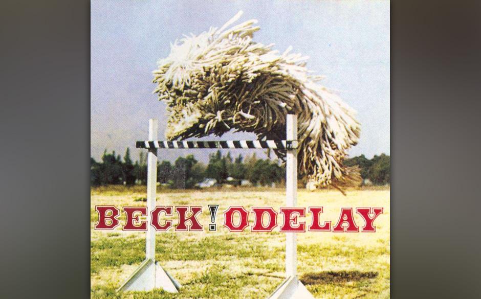 Odelay: Beck, 1996. Beck verschanzte sich mit den samplebesessenen Produzenten der Dust Brothers im Studio, kam mit einer Tec
