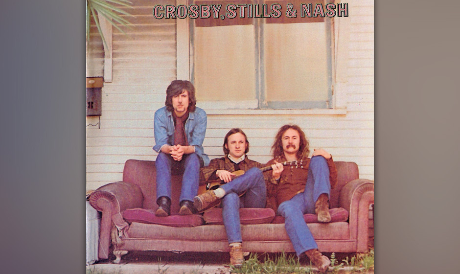 "262. Crosby, Stills and Nash: Crosby, Stills And Nash 1969. Jimi Hendrix nannte CSN ""groovy, Western-sky music"". Auf ihre"