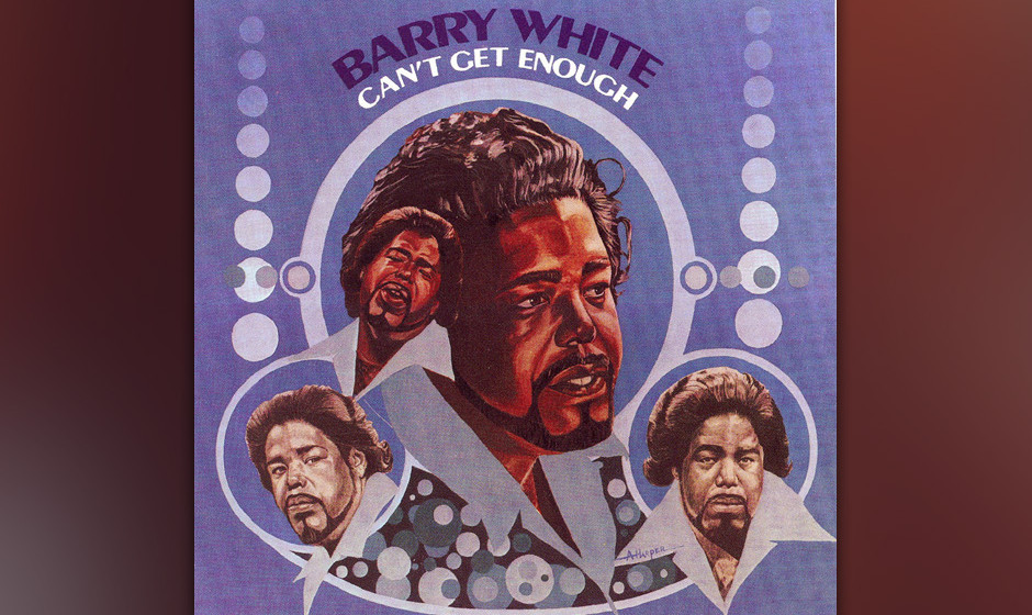 283. Can't Get Enough: Barry White 20th 1974. 1974 war White mit drei Alben in den Charts vertreten, deren orchestrale Hits