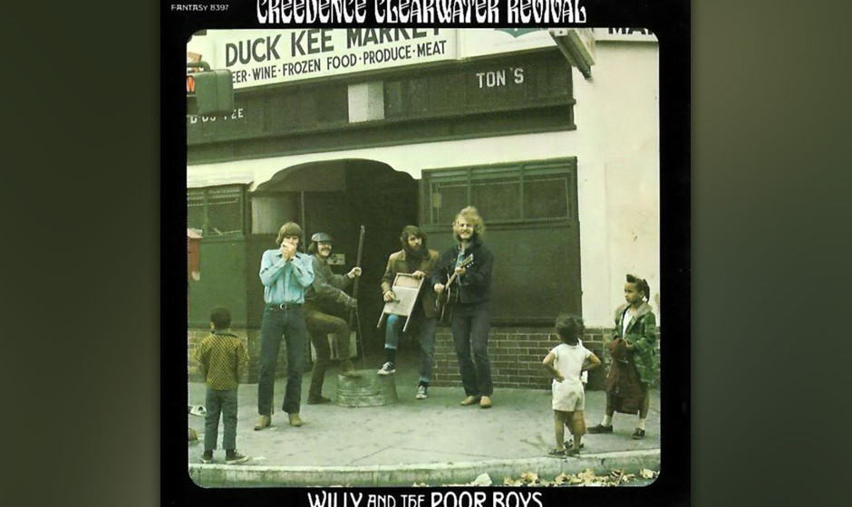 309. Willy And The  Poor Boys: Creedence Clearwater, 1969. Das beste der sechs CCR-Alben. John Fogerty als swingend rockender