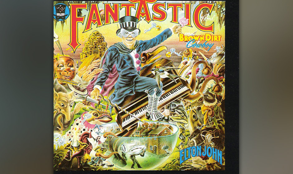 158. Elton John - Captain Fantastic And The Brown Dirt Cowboy, 1975 John (Captain Fantastic) und Texter Bernie Taupin (Brown