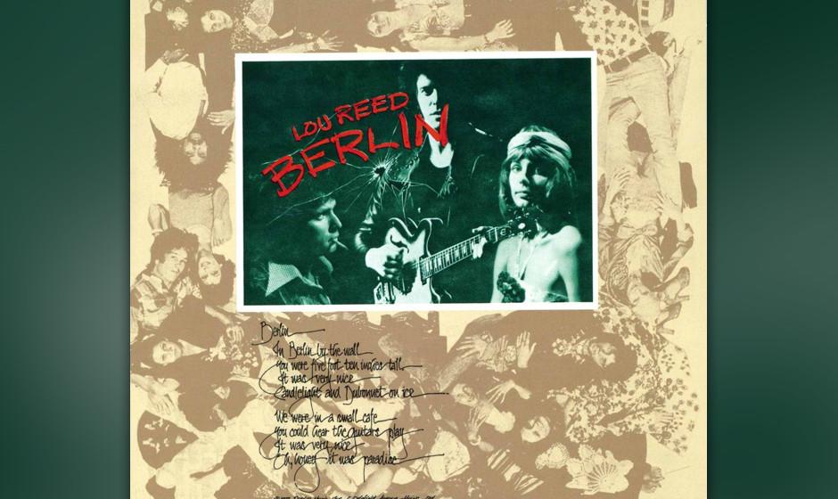 """344. Berlin: Lou Reed, 1973. Auf seinem Solo-Durchbruch mit """"Transformer"""" ließ Reed seine Version von Hamlet folgen, ein"""