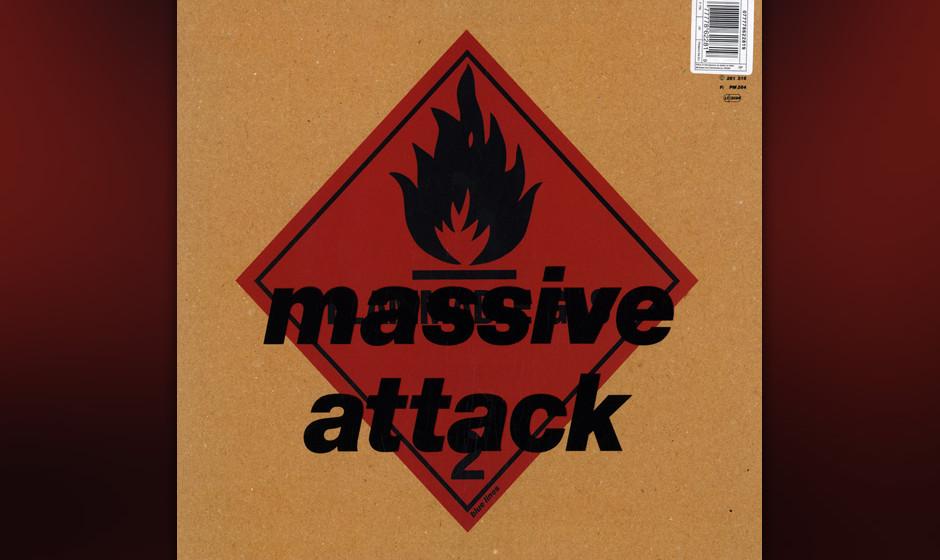"""397. Blue Lines: Massive Attack 1991. """"Blue Lines"""" war vielleicht der erste Post-HipHop-Klassiker, eine Kombination aus R"""