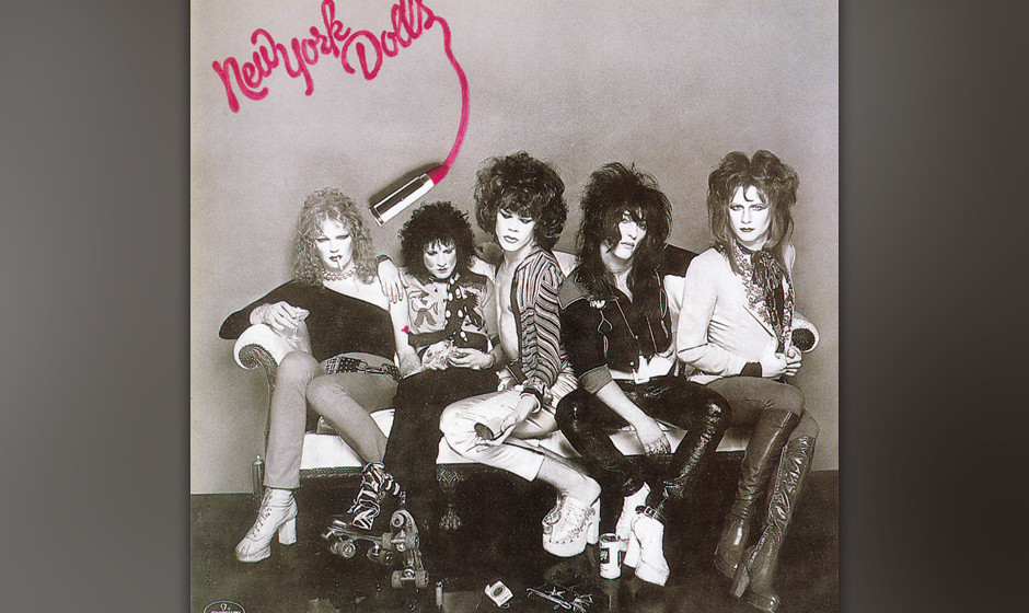 "215. New York Dolls: New York Dolls 1973.""Could you make it with Frankenstein?"", fragten sie ohne mit der Wimper zu zucke"