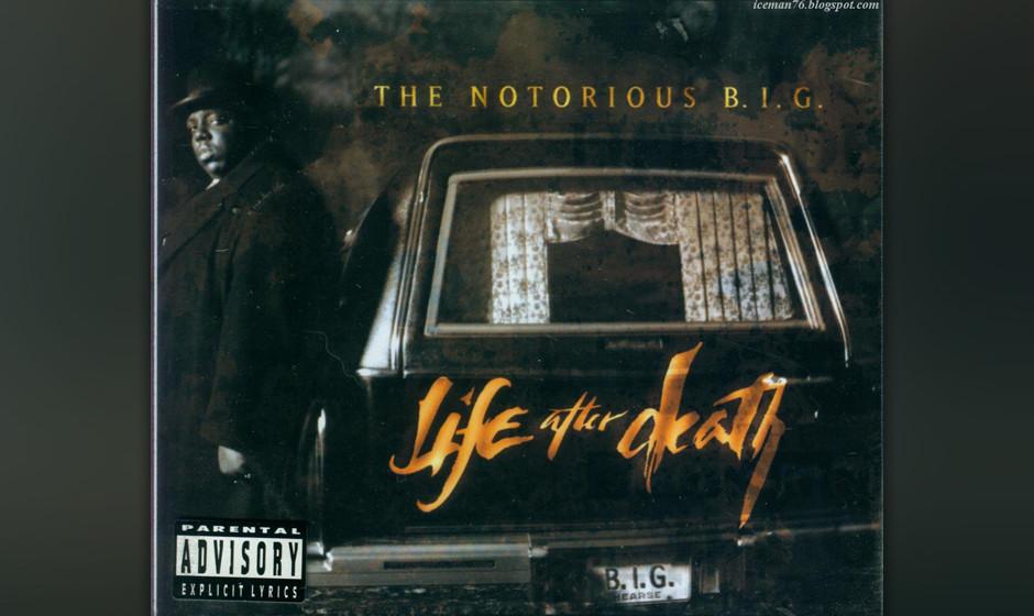 476. Life After Death: The Notorious B.I.G. (1997). Weniger als einen Monat nach dem Mord an Biggie veröffentlicht, versamme