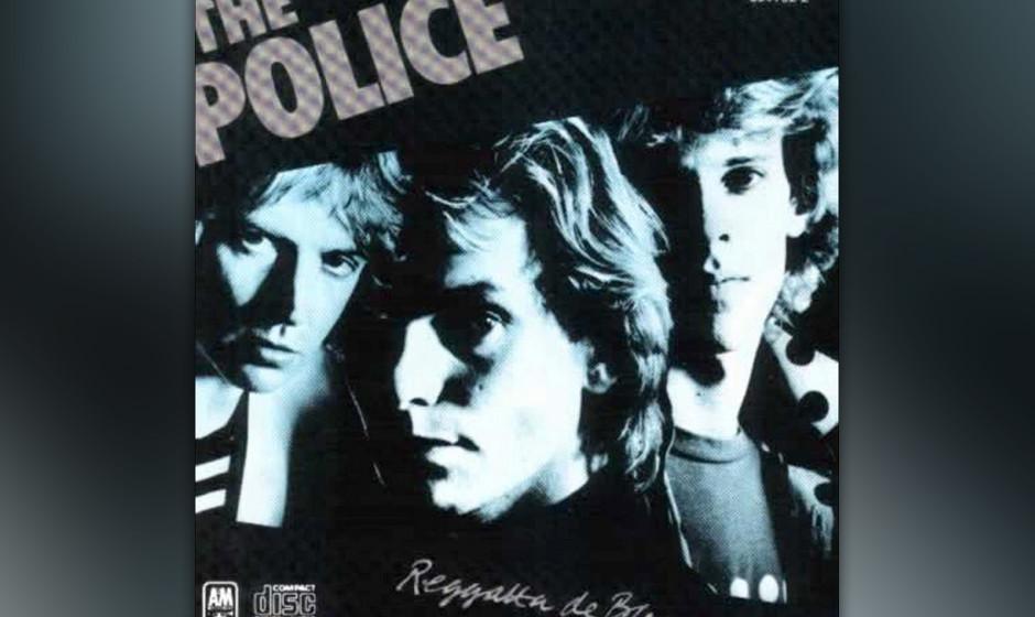 """372. Reggatta De Blanc: The Police 1979. Sting hat stets betont, dass er seine Aufgabe bei Police darin sah, """"den Massen ma"""