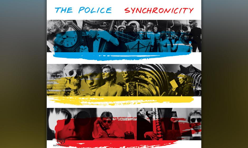 """448. Synchronicity: The Police (1983). """"Ich bin am besten, wenn ich Schmerz und Gefühlsstürme durchzustehen habe"""", beka"""
