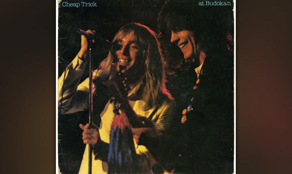 426. At Budokan: Cheap Trick (1979). Nach drei Studioalben waren Cheap Trick in Japan bekannter als in den USA. Doch dieser M