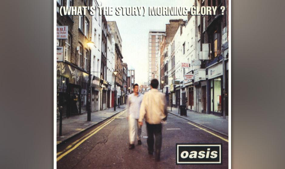 378. (What's The Story)  Morning Glory?: Oasis 1995. Mit ihrem zweiten Album beschworen die Gallagher-Brüder Vergleiche mi