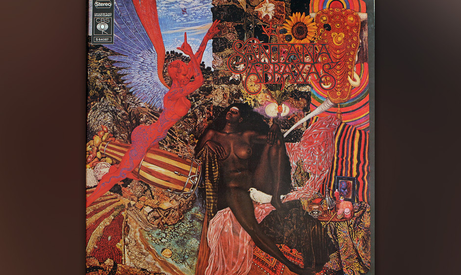 "207. Abraxas: Santana 1970. ""Black Magic Woman"", die Hit-Single des Albums, war Santana in Reinkultur: Afro-Latin-Grooves"